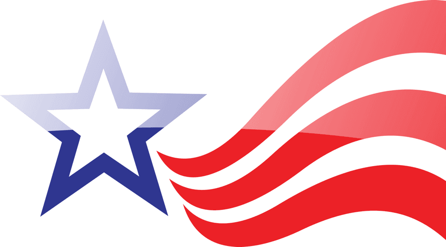 Blue Star Red Stripes logo